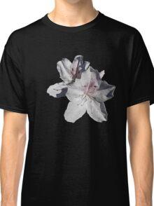 white azalea flowers Classic T-Shirt