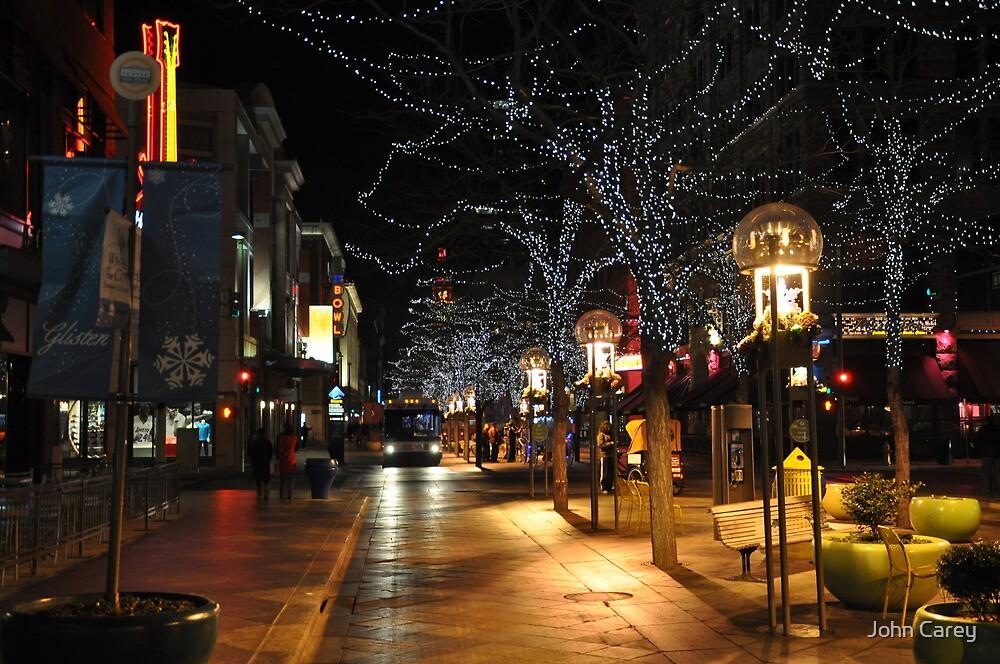 Downtown Denver, January by John Carey