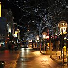 Downtown Denver, January by John Carey