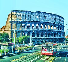 Colosseum Approach by ElsieBell