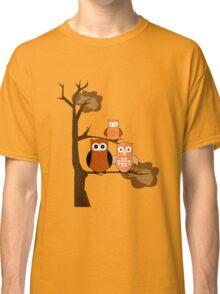Orange Owls Classic T-Shirt