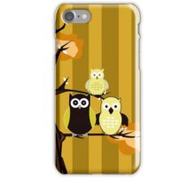 Yellow Owls iPhone Case/Skin