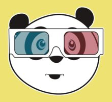 Panda - 3D Glasses (Black) Kids Clothes