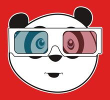 Panda - 3D Glasses (Black) Kids Clothes