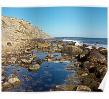 Lighthouse Cove Tidal Pool - Block Island Poster