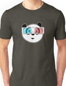 Panda - 3D Glasses Unisex T-Shirt