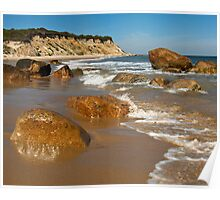 Mansion Beach - Block Island Poster