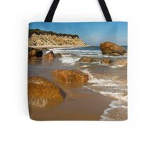 Mansion Beach - Block Island Tote Bag