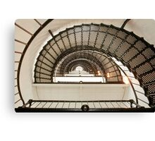 Stairway of the Sant Augustine Lighthouse Canvas Print