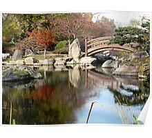 Japanese Garden, Jackson Park , Chicago Poster