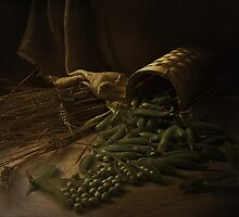 Pea Still Life by VallaV