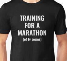 Training For A Marathon Unisex T-Shirt