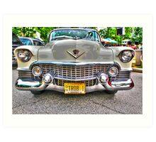 Cadillac 1954 Art Print