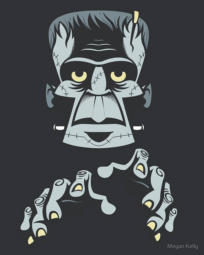 Frankenstein's Monster by Megan Kelly