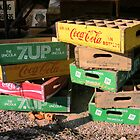 Soda Crates by Carolyn Venditto