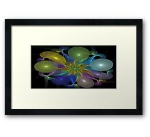PARTY BALOONS Framed Print