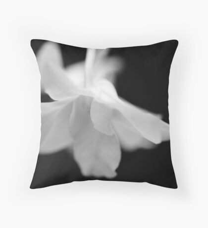 """Ethereal - Conservatory Orchid"" Throw Pillow"