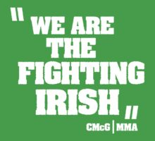 Conor McGregor - Quotes [Fighting Irish] by TypeTees