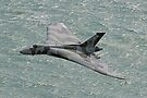 Vulcan XH558 from Beachy Head - 1 by Colin  Williams Photography