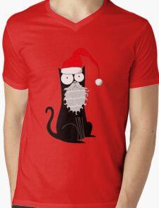 Santa Claws Mens V-Neck T-Shirt