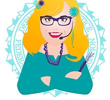 Criminal Minds - Penelope Garcia by Maria Paola R