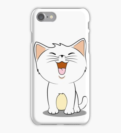 kawaii cat iPhone Case/Skin