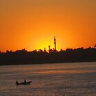 Sunset in Aswan - on the Nile by maashu