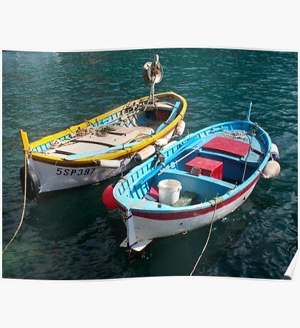 Cinque Terra - Monterosso Harbour Poster