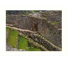 Stairs of the Ancients Art Print