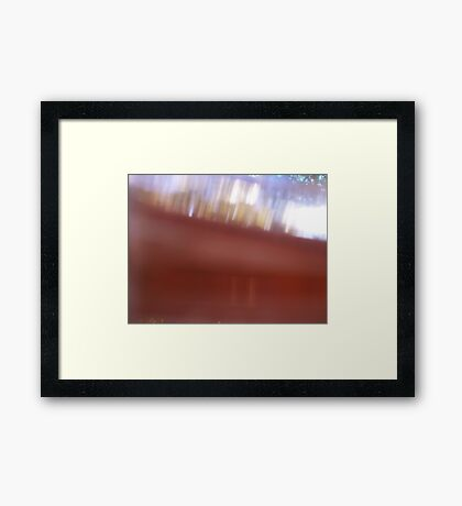 Half drunk love Framed Print