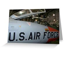 AIR SUPERIORITY, USA! Greeting Card