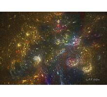 Rainbow Star Galaxy Photographic Print