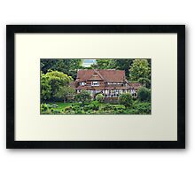 """ The Back of the George and Dragon"" Framed Print"