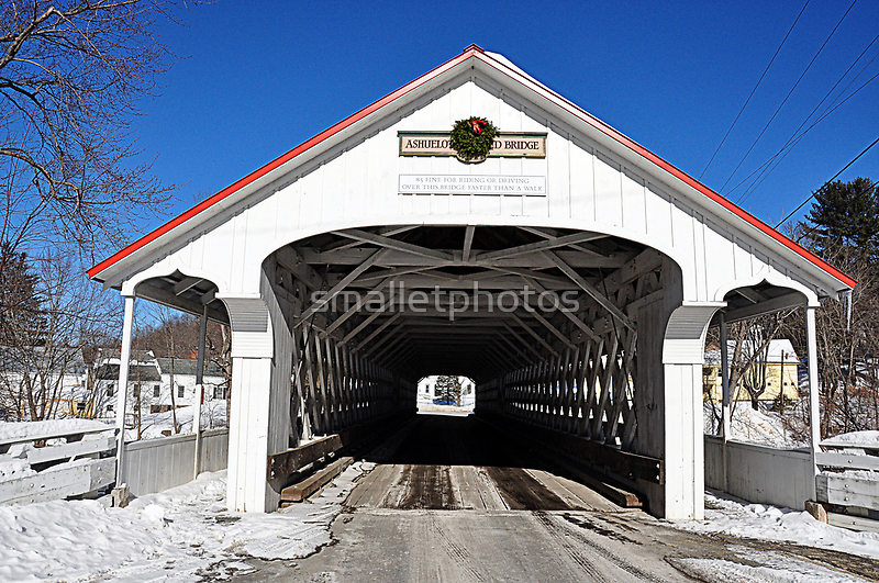 Ashuelot Covered Bridge by smalletphotos