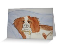 My Beloved Jenna ~ Cavalier King Charles Spaniel Greeting Card
