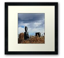 MOTHER AND CHILDREN:  HANGING OUT Framed Print
