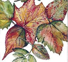 Autumn Leaves by Val Spayne