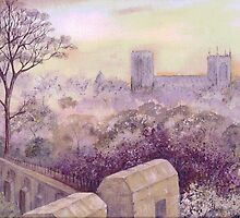 York Minster by Val Spayne