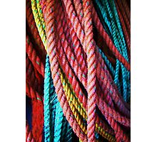 Colored lines Photographic Print