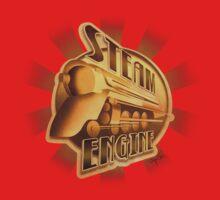 Steam Engine One Piece - Short Sleeve