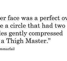 Her Face - #grammarfail by uniqueprints