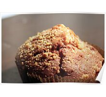 Apple Muffin Poster