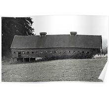 Window barn Poster