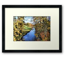River Ure - Broughton Estate Framed Print