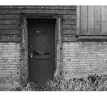 The Beer door 1 Photographic Print