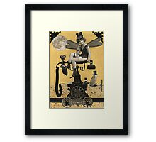 Telephone Fairy Framed Print