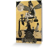 Telephone Fairy Greeting Card