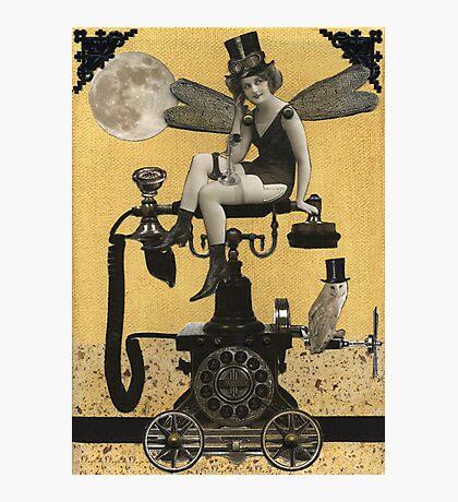 Telephone Fairy Photographic Print