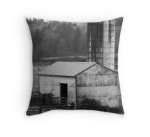 Barn and Silo 1 Throw Pillow