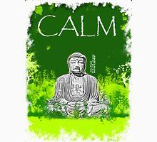 Calm Buddha Womens Fitted T-Shirt